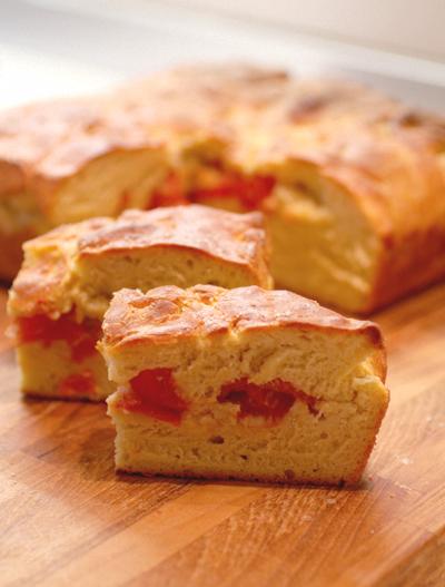 (Pan)Focaccia con pomodorini