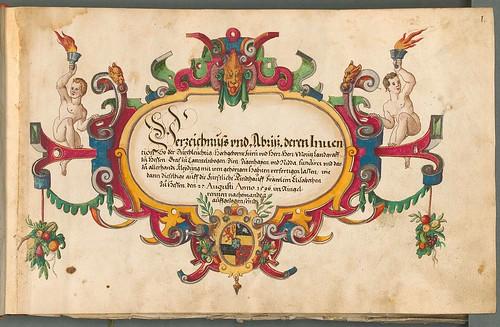 Beschreibung der historischen und allegorischen Personen 1600 titlepage