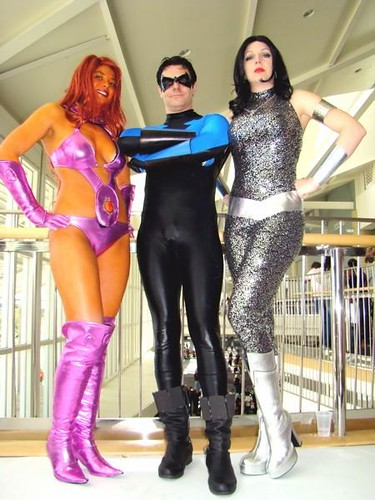 Starfire, Nightwing, Donna Troy MegaCon