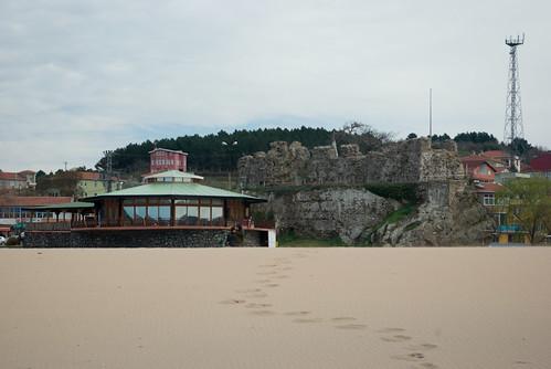 riva castle, riva village, istanbul, blacksea region, pentax k10d