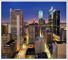 Dallas (Justin Terveen) Tags: street city urban skyline architecture skyscraper buildings grit dallas cityscape texas skyscrapers metro panoramic dfw exploration dart ninjatune swivel justinterveen wwwtheurbanfabriccom theurbanfabric urbanfabricphotography