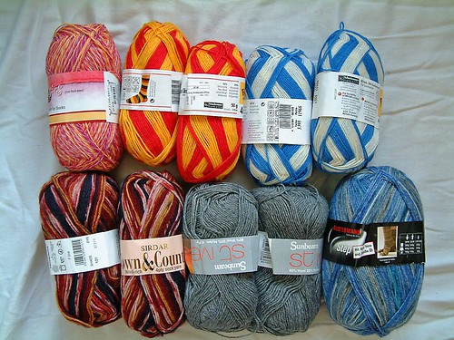 Lots of Pretty Yarn