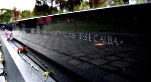 Vietnam Memorial - Jesse C Alba