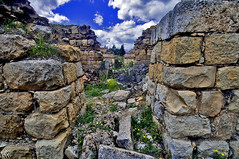 Broken Doorways (LLP (Recuperating... Extended Away)) Tags: lebanon history landscape nikon ruins archeology d300 umayyad anjar