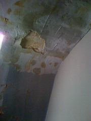 Hallway Ceiling with Leak