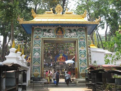 Entrance to Swayambhunath Stupa