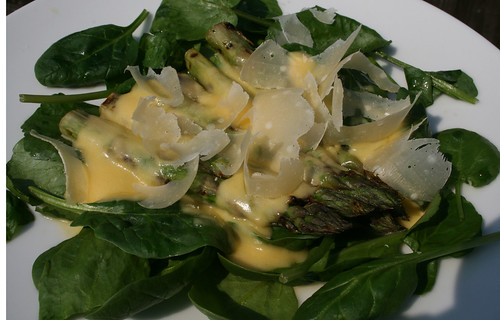 Asparagus and Hollandaise 1