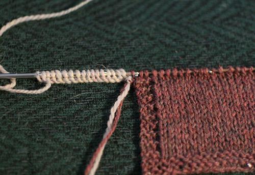 ddc0f6ac8854 Tutorial  Knitted-on Border - Miriam Felton