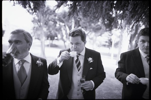 wedding photographers in  Spain Edward Olive - coca cola & normal tie - english tea & champagne & old school tie - english tea & old school tie