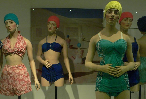 Bathing Costumes at the Fashion Museum in Bath