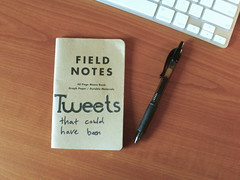Tweets That Could Have Been (camh) Tags: notebook tweet fieldnotes twitter