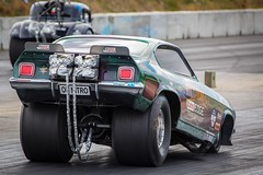Fat Rear (Jarod Carruthers) Tags: 500px karl boniface nitro methane flashback drag dragster masterton motorplex dragstalgia nitromethane chevy vega chevrolet nostalgia funny car