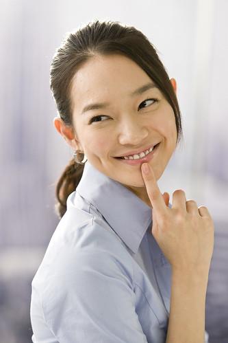 フリー画像| 人物写真| 女性ポートレイト| アジア女性| OL/オフィスレディー| 韓国人|      フリー素材|