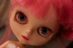 Just love (Dart ➻◉) Tags: snowflake pink colors face makeup customized makeover blythe custom sonata marylou
