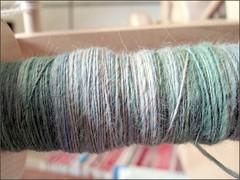 Wisteria Merino-Angora singles