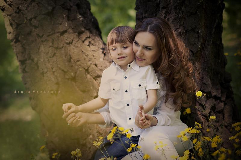 Фотосессия в ботаническом саду. Фотограф Ирина Марьенко. Fotostomp.ru