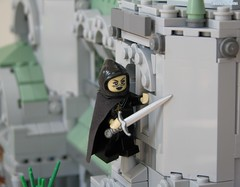 The Guardian Angel (Sirens-Of-Titan) Tags: castle lego cathedral wizard vampire tomb mausoleum fantasy hero epic