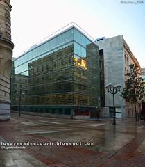 Nueva biblioteca de Bilbao (Biskaia, Euskadi) (lugaresadescubrir) Tags: espaa architecture town spain arquitectura espanha library ciudad bilbao biblioteca espagne ville vizcaya bilbo paisvasco spanien biblioteque biskaia contremo spanja contremolad