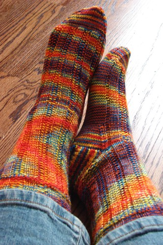 Roza's Socks (aka Thelma & Louise Socks)