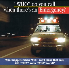 """WHO"" do you call when there's an Em..."