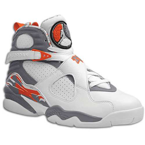 Air Jordan 8 White Orange Blaze Silver Stealth 2007 - SBD