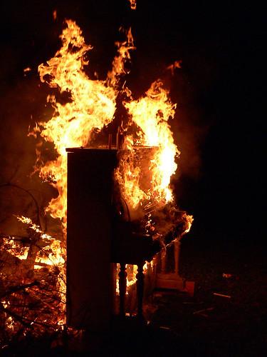 Fire Piano by Little Baby Zorak