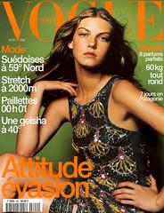Vogue Paris Novembre 1999 (Ze Cali Fairy) Tags: fashion magazine model vogue cover jeanbaptistemondino frenchvogue vogueparis angelalindvall