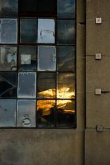 burning tiles (Scarf Face) Tags: street windows sunset toronto abstract glass wall contrast pentax squares minimalistic torontoist eyewashdesign 1645 k100d