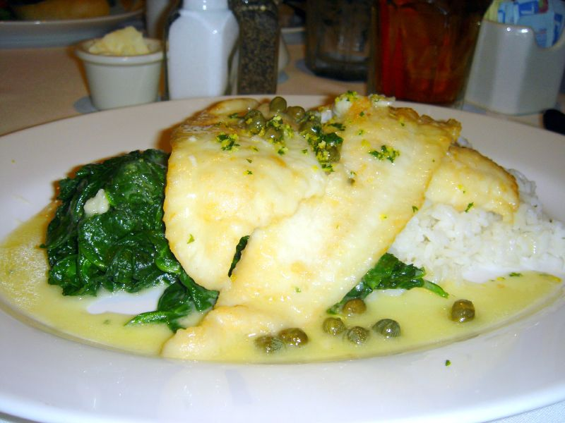 Pan Fried Petrale Sole