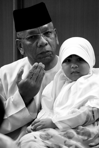 Father and Daughter in Prayer