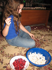 six bags of cranberries