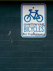 (Mowling) Tags: graffiti bicycles your abandon buy skateboard mowling shannonmowling