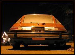 Pacesetter (AsherBlue) Tags: seattle longexposure orange black car night washington darkness automotive vehicle amc pacer smrgsbord 10faves p1f1 americanmotorscorporation historicvehicle ilovemypic cmwd cmwdorange llovemypic