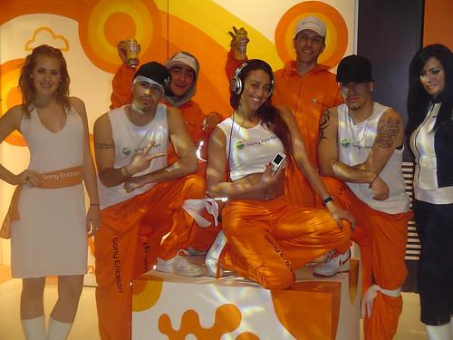 "Power Peralta Lanzamiento ""Shake"" telefono movil de Sony Ericcson"