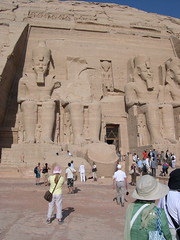 Great Temple of Ramses II... again (upyernoz) Tags: ruins egypt  abusimbel   greattempleoframsesii