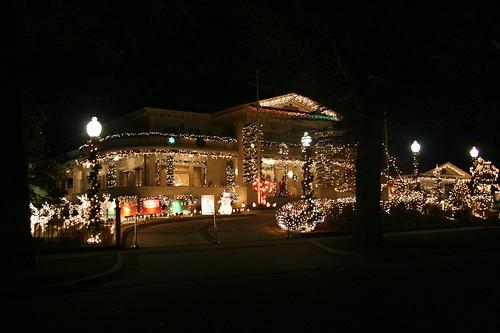 Governor's Mansion Christmas Lights