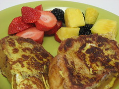thick French toast (dorkyspice) Tags: food fruits frenchtoast