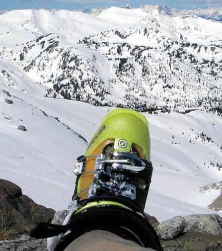 Scarp ski boot