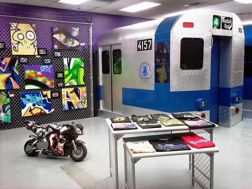 Tuff City Graff Gallery The Bronx, Hip Hop, graffiti, wild style