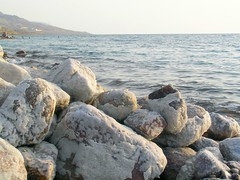 Salt builds up on the rocks (Walz of Winnipeg) Tags: salt jordan salty deadsea