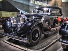 Mercedes-Benz 770 Tourer (dnh23) Tags: hdr mercedesbenzmuseum mercedes benz stuttgart untertrkheim badcannstatt geotagged daimler typ770 1937 w07 tourer ixus40 canon geo:lat=48788093 geo:lon=9234052 oldtimer classic cars classiccars