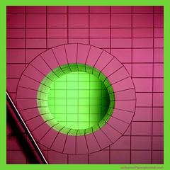 (sediama (break)) Tags: pink colour green window germany toilette restroom banister 35faves aplusphoto ultimateshot tornadoaward ugtoprated ©bysediamaallrightsreserved