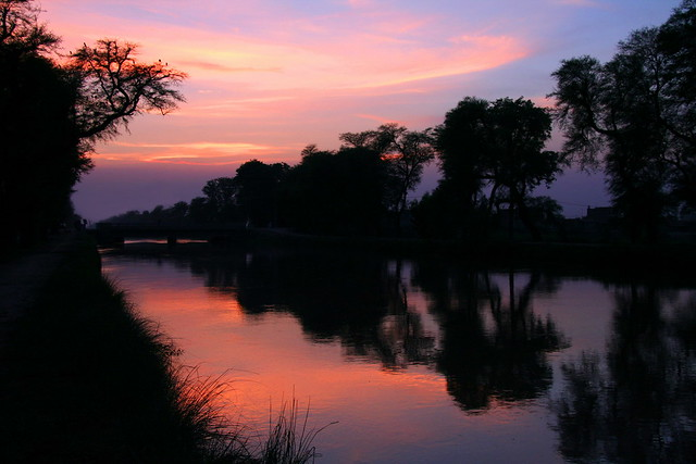 After Sunset At Canal Satiana (Faisalabad)