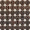 Copper Uppercase Letters and Numbers (Leo Reynolds) Tags: photomosaic alphabet abcdefghijklmnopqrstuvwxyz alphanumeric groupphotomosaics mosaicalphanumeric fdsflickrtoys squircle groupfd xleol30x abcdefghijklmnopqrstuvwxyz0123456789 xphotomosaicx mosaicsquircle hpexif xratio1x1x xsquarex xx2008xx