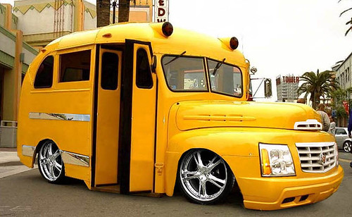 Totally cool School Bus