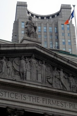 NYC - Civic Center - New York County Courthouse by wallyg, on Flickr