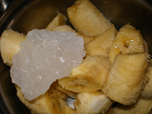 bananas with rock sugar