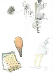 dagtekening 11 maart 1994 (janberckmans) Tags: pencil drawing dessin crayon dailydrawing tekening potlood dessinquotidien dagtekening