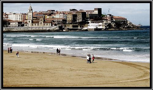 Playa de San Lorenzo - diario