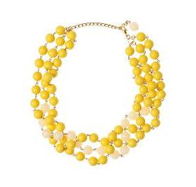 Anthropologie.com > Lemondrops Necklace :  necklace jewelry yellow accessories